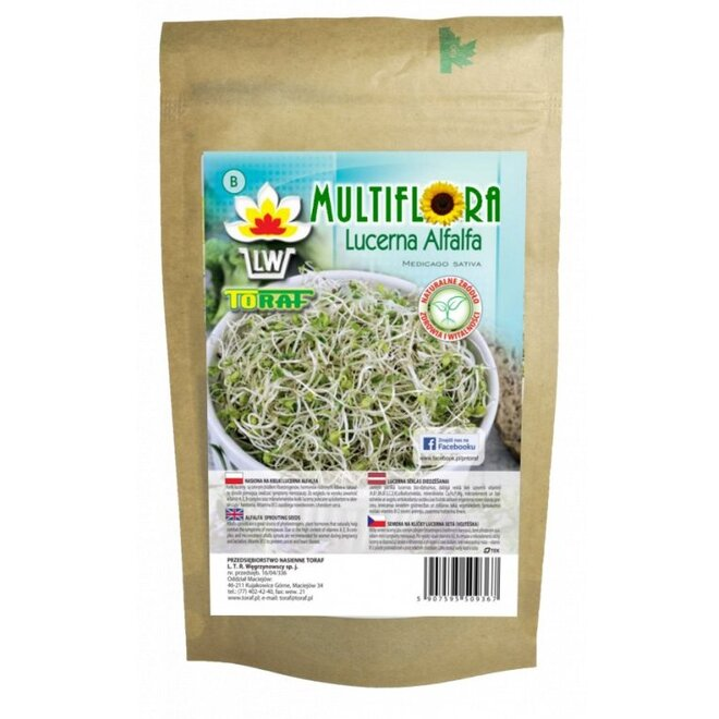 Vojtěška – semena na klíčky, 100 g