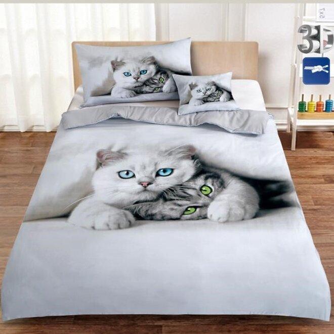 3dílná souprava - Kočka s kotětem
