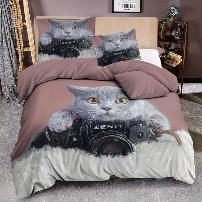 3dílná souprava - Grey cat photo