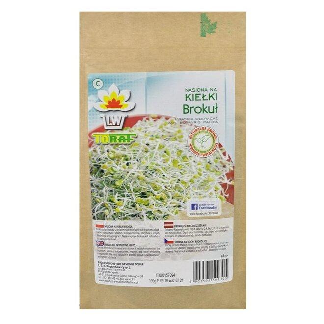 Brokolice XXL balení – semena na klíčky, 100 g