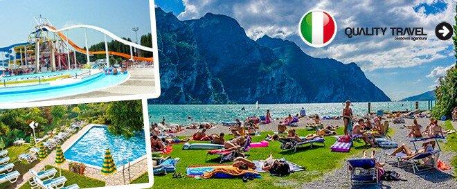 Zážitková dovolená u jezera lago di garda