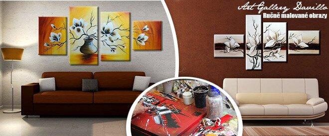 Oživte své zdi ručně malovanými obrazy