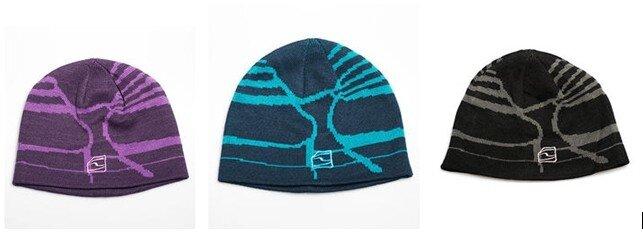 324bf4577a4 Cooly – pletená čepice s krátkým kšiltem s barevnými proužky dvou barev