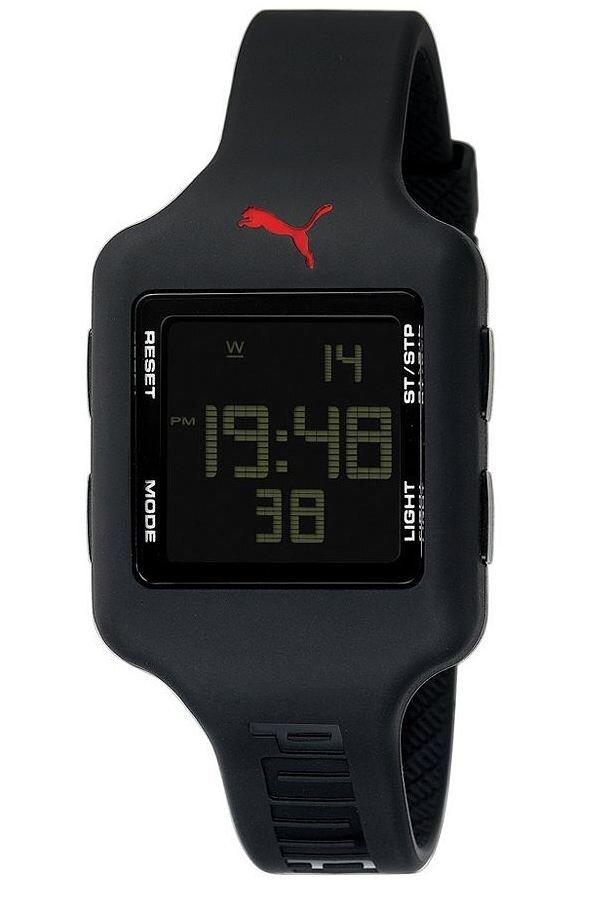 e177e42a0 Sportovní digitální hodinky Puma Active. Dámské sportovní hodinky; 3 barvy  na výběr: černá