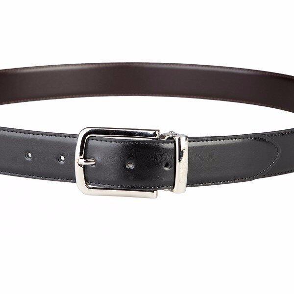 1d86a6954f96 Calvin Klein oboustranný pánský pásek – oválná přezka