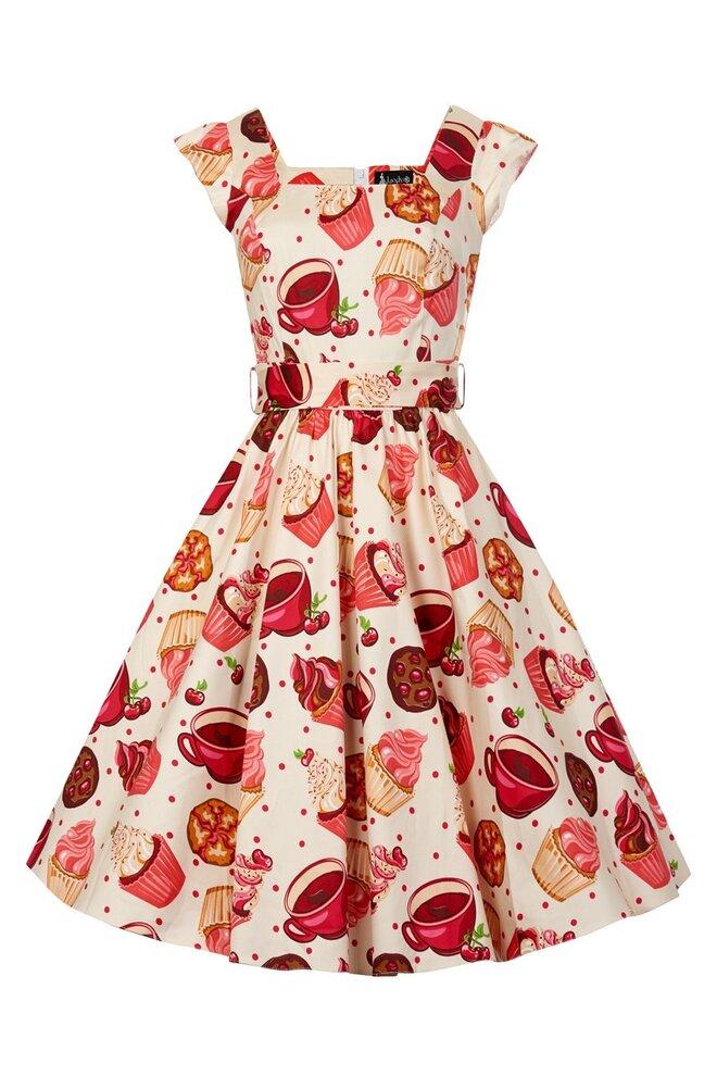 Úchvatné retro šaty ve stylu 40. a 50.let  b1c86a1839