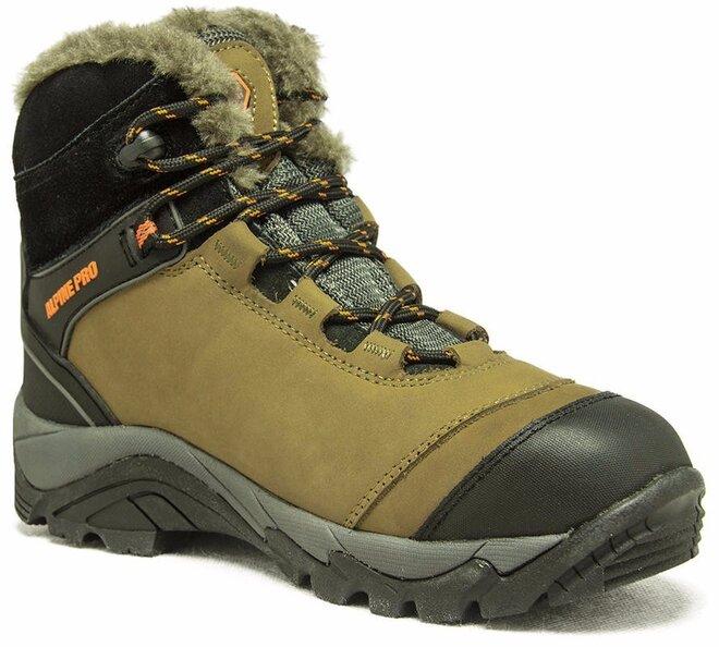 Dámské zateplené zimní boty od Alpine Pro  49b4f47383