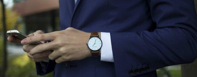 4b5a33832fb Elegantní minimalistické hodinky Lington