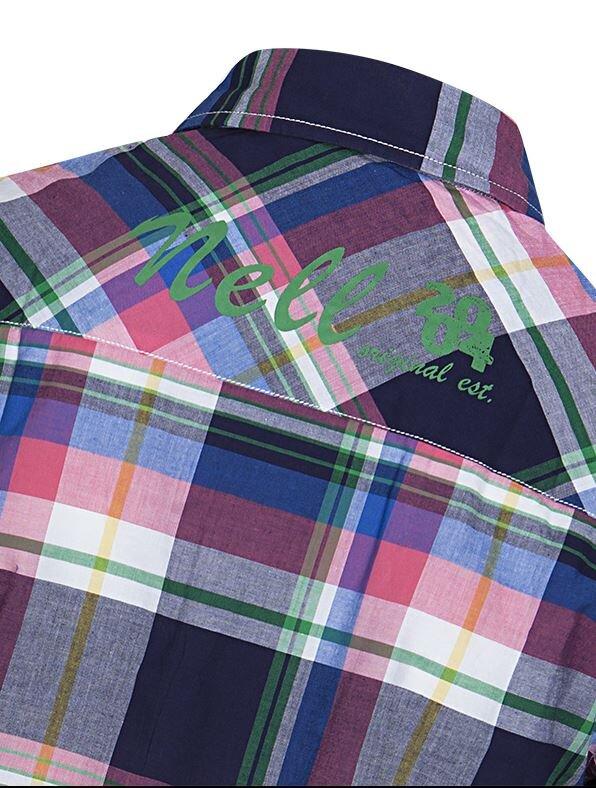 Pánská a dámská kostkovaná košile Nell  a37a9e1f63