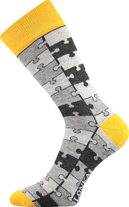 Barevné designové ponožky Voxx a Lonka  371f0c471c