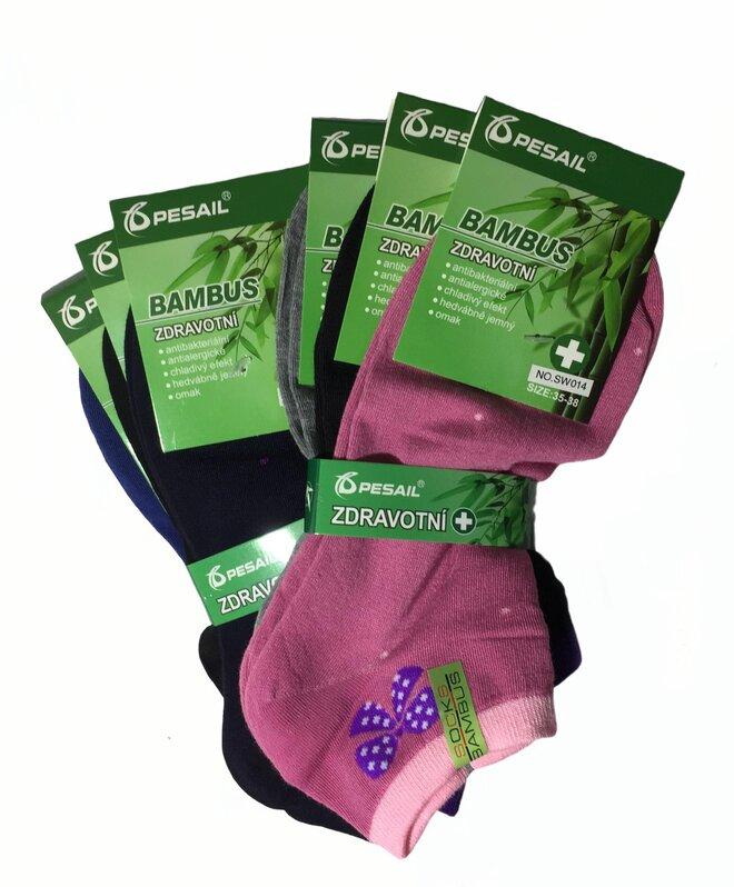 b0fb0a76990 ... i v bambusu – konkrétně tedy v ponožkách z bambusového vlákna.  Vybírejte ze 6 barevných variant s různými vzory