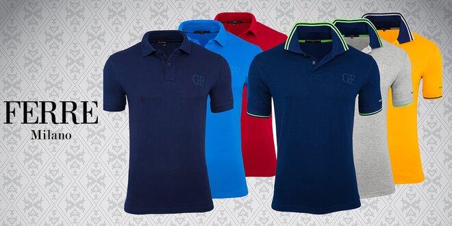 ... italského návrháře Gianfranco Ferré. Pánské polokošile GF jsou stylová  a nadčasová trička s límečkem. d8974336b2