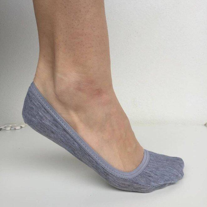 6 párů bambusových ponožek do balerínek  f33d4a978d