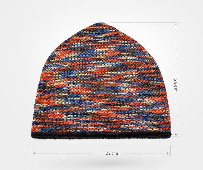 Hřejivý pletený nákrčník a čepice 2 v 1  fece5a6376