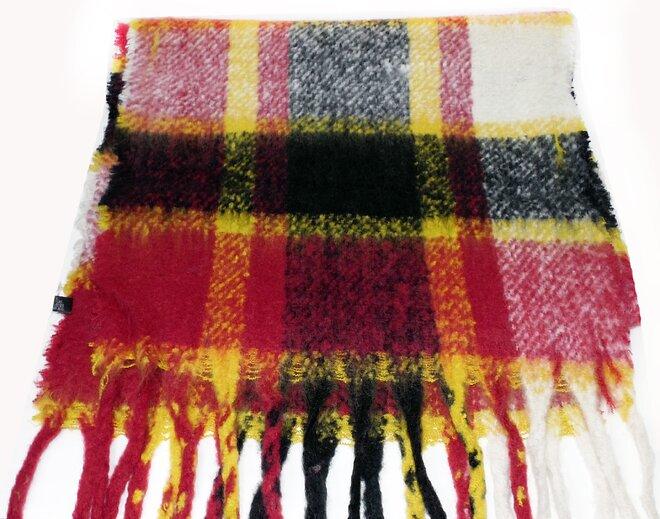 Teplé vlněné maxi šály s třásněmi ve 12 barvách  170366b32e