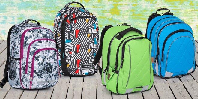 Batohy do školy: různé barvy i varianty 2 v 1