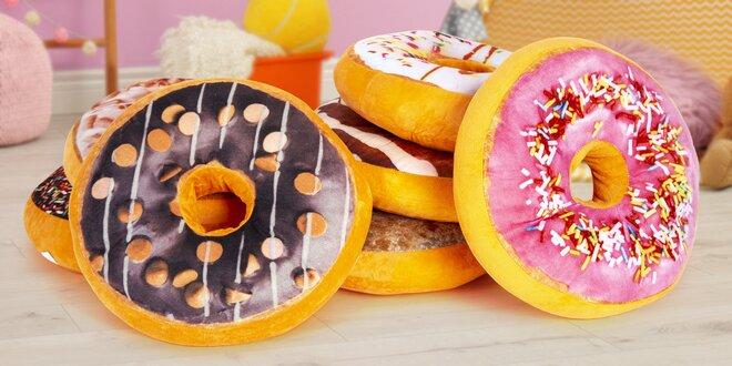 Polštářky donut ve dvanácti mlsných příchutích