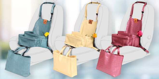 Friendi organizér s taškou do auta ve 3 barvách