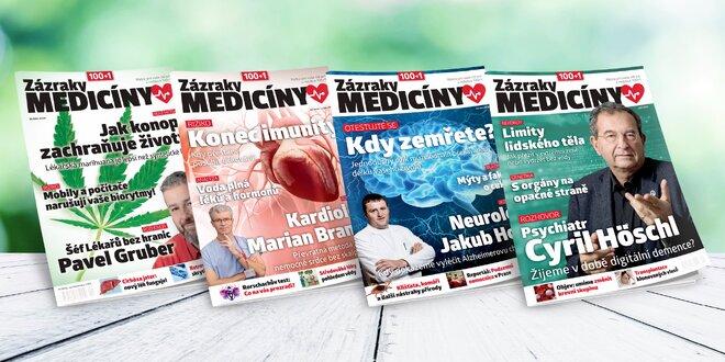 Časopis 100+1 Zázraky medicíny, ročník 2019