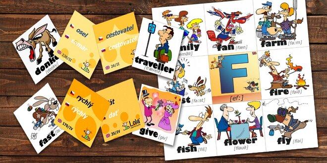 Chytré karty: Cizí jazyky rychle a jednoduše