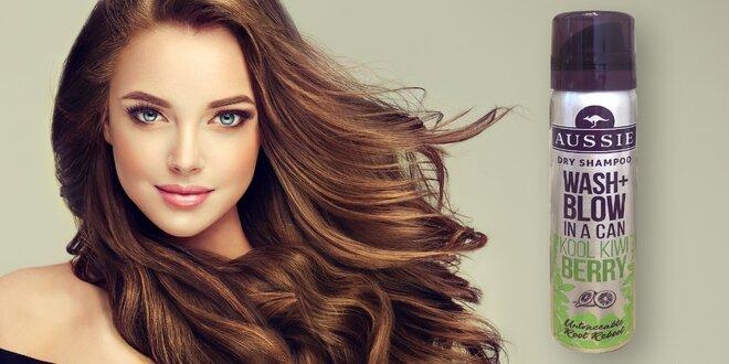 Suchý šampon Aussie Kool Kiwi Berry: 6× 65 ml