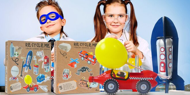 Re-cycle-me: Recyklujte a tvořte s dětmi hračky