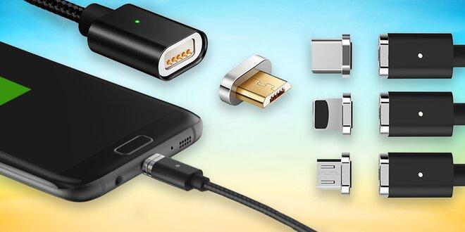 Magnetické USB kabely a držáky na telefon