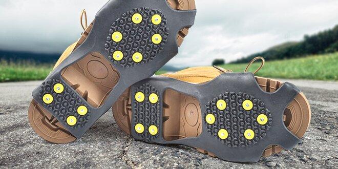 Protiskluzové gumové návleky na boty: S–XL