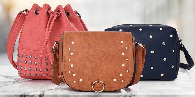 Zdobené crossbody kabelky: 3 druhy, mnoho barev