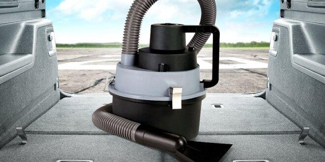 Přenosný autovysavač s připojením k zapalovači