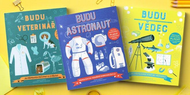 Zábavné knihy s hrami, kvízy i samolepkami