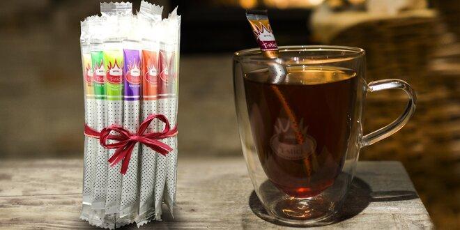 Sypané čaje v balení, které nahradí lžičku