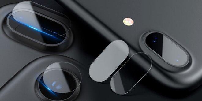 Bezpečnostní sklo fotoaparátu pro iPhone 7 až XS