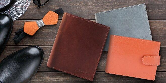 15 stylových pánských peněženek z pravé kůže