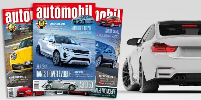 Roční předplatné časopisu Automobil na rok 2020