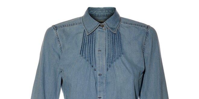 Dámská světle modrá džínová košile Bushman  77a707e8a2