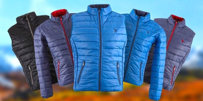 Pánské oboustranné prošívané bundy a vesty