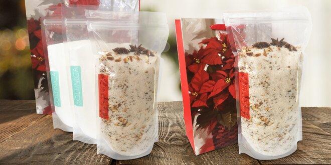 Vánoční balíčky epsomské soli do koupele