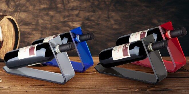 Designové stojany na víno: na výběr ze 4 barev