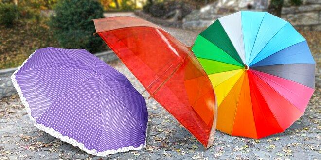 Poloautomatické i automatické deštníky: 11 variant