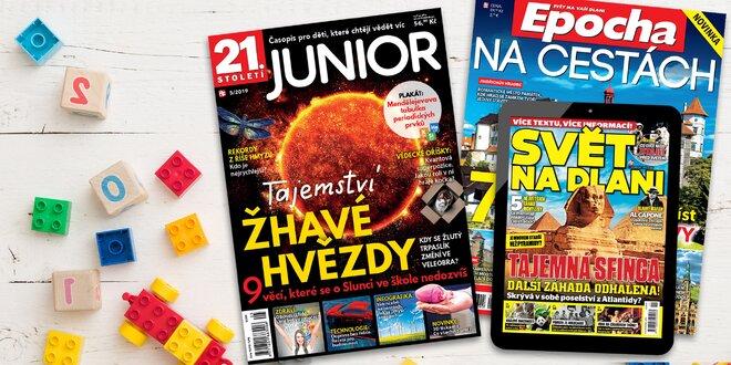 Předplatné 21. století Junior a el. verze Svět na dlani