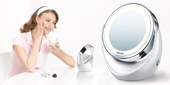 Kosmetické zrcátko Beurer s LED osvětlením