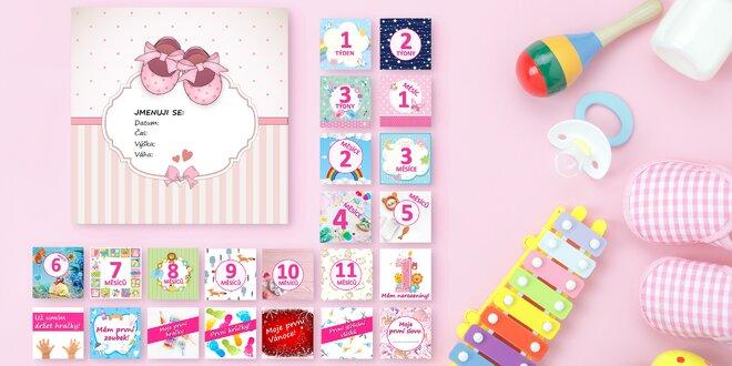 Milníkové kartičky KidPro pro první rok miminka