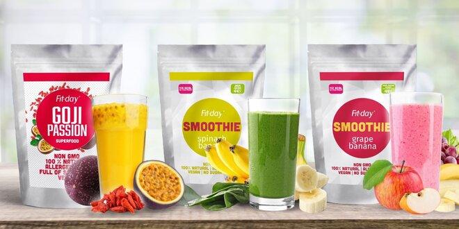 Proteinové smoothie: ovoce, zelenina i superfood