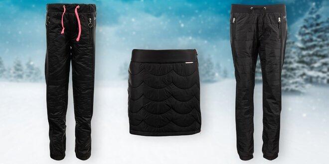 Zateplené kalhoty i sukně Alpine Pro