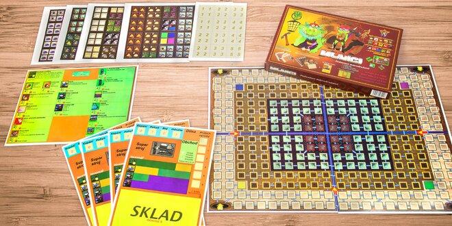 Společenská hra Muníci pro 2–4 hráče od 8 let