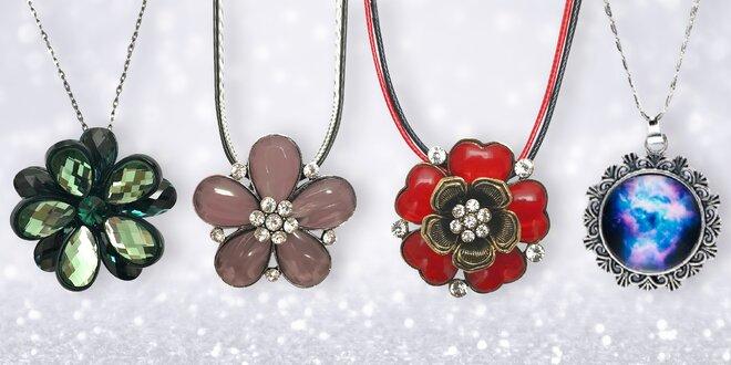 Krásné barevné náhrdelníky Intrigue: mnoho stylů