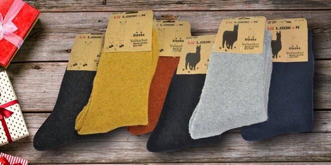 Dámské a pánské teplé ponožky: balení po 3 párech