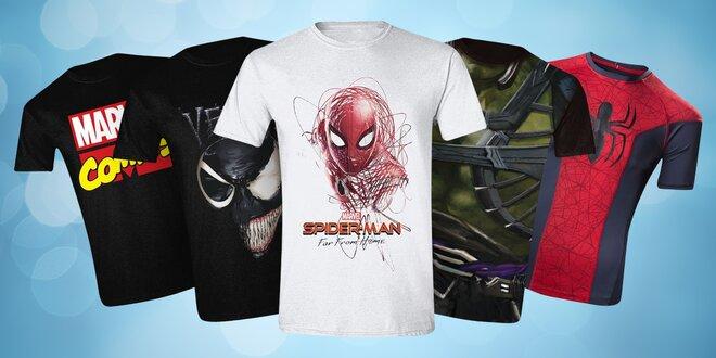 Trička Marvel: Punisher, Spiderman, Venom a další