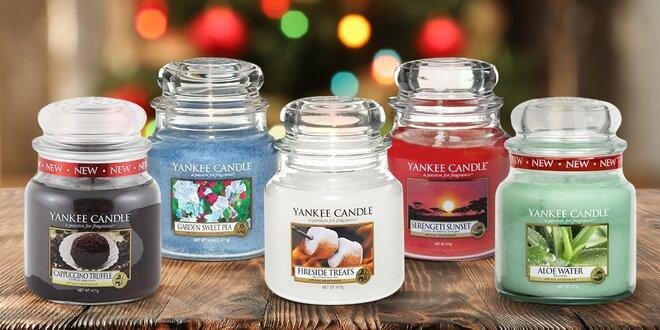 Vonné svíčky Yankee Candle: až 90 hod. hoření